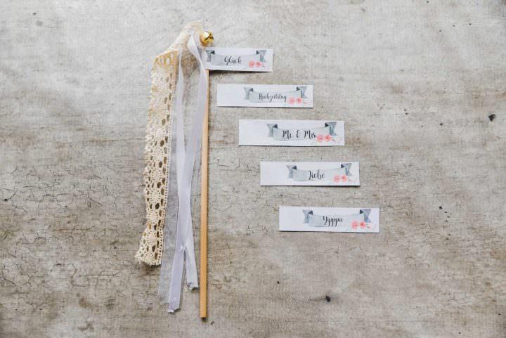 DIY Wedding Wands